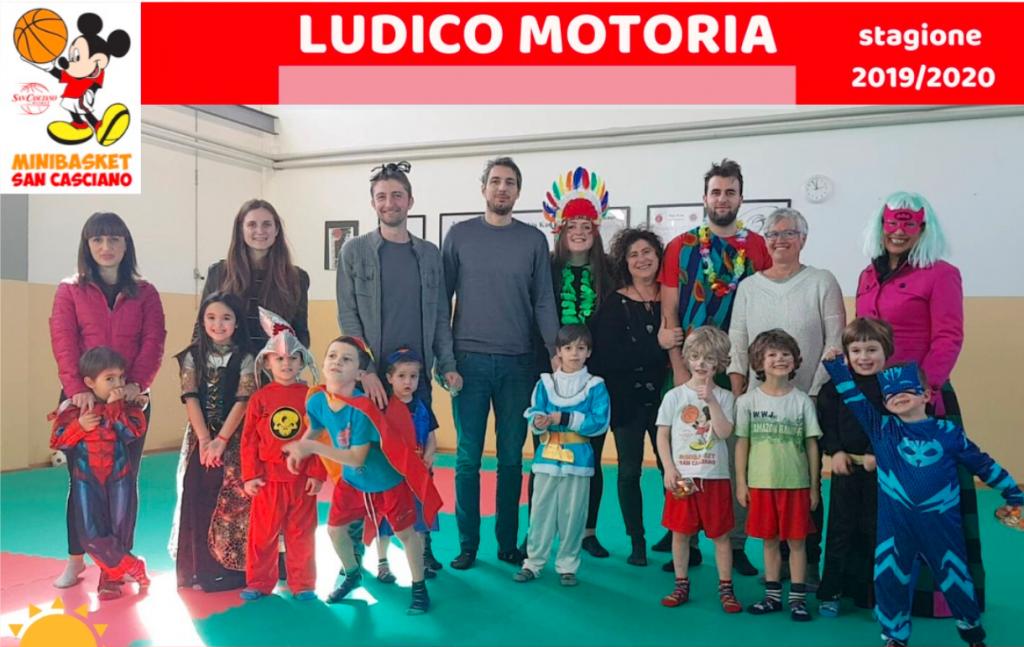 ludico motoria 2019-20 carnevale