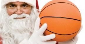 Babbo Natale baskettaro