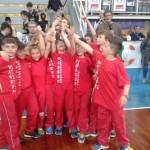 Il gruppo 2005 festeggia il 3° posto conquistato