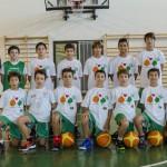 La squadra del Pino Dragons Esordienti, vincitore del torneo