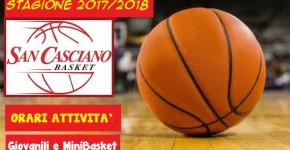 basket palla nuova stagione_orari