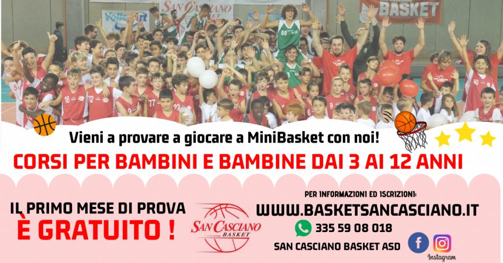 2020-2021 promo MiniBasket SanCasciano 2020 Header