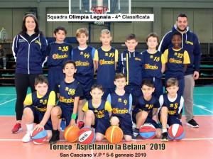 Olimpia Legnaia - 4^ classificata