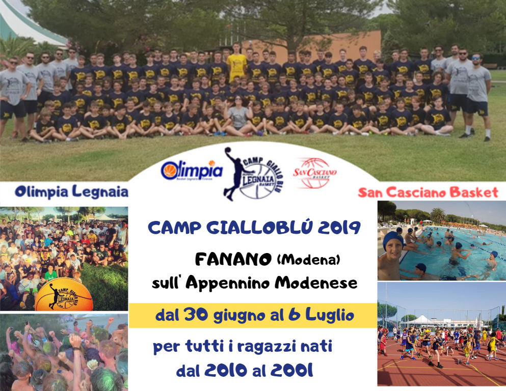 camp gialloblu 1