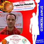 COACH Federico PISTOLESI