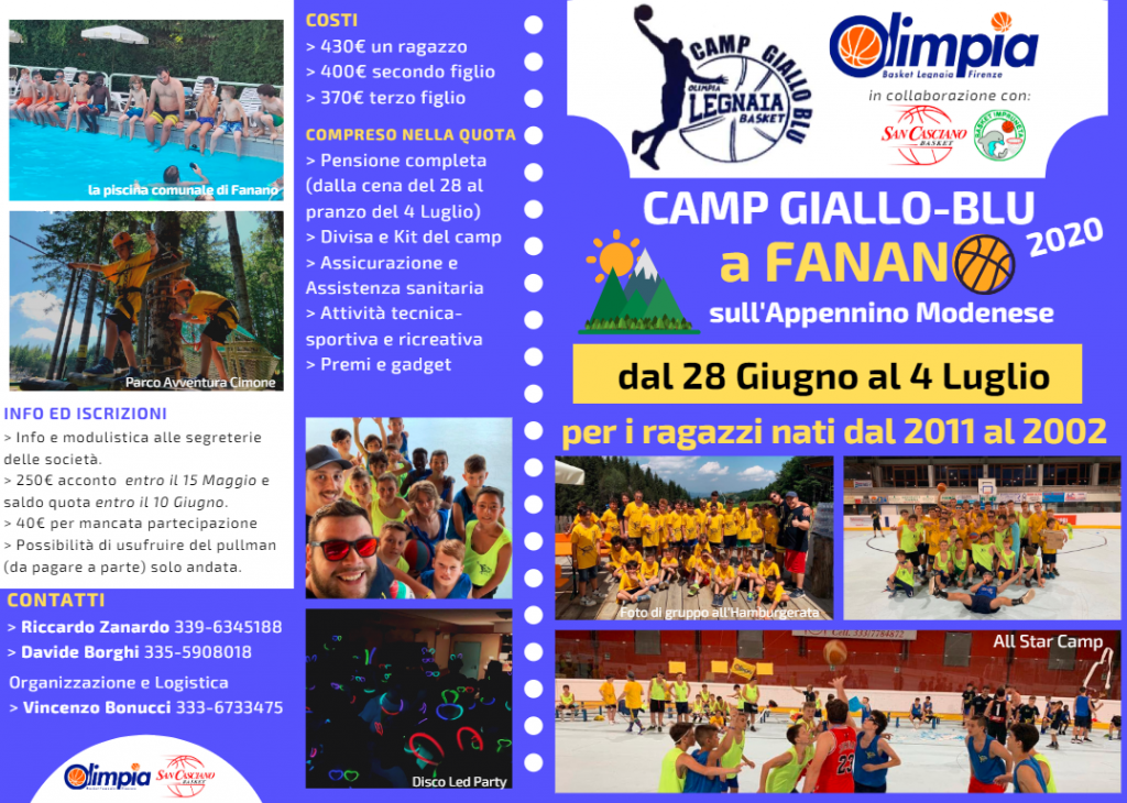 CAMP GIALLO_BLU 2020 fronte