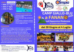brochure CAMP GIALLO_BLU postCovid #1
